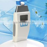 mini micro current head massag machine with 3 optional heads LCD display design