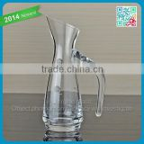 Transparent Clear Wine Glass Decanter Lead Free Crystal Glass White Wine Cup Mug Unique Design Gift Crystal Glass Decanter