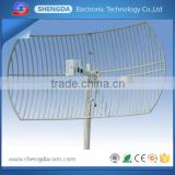 long range 30dB 2.4ghz wifi antenna , 2.4 ghz/3.5ghz/5.8ghz wimax sector antenna outdoor