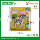 Bestgoal wooden jigsaw puzzles for kids wooden toy cube puzzle