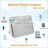 JVE-3311G New Design multi-function Digital Table Clock Camera with Remote Control,140 Degree,thermograph,Voice tell time