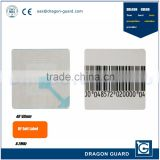 Hot Sale Alarm RL40*40 Soft Sticker Supermarket Shop Anti-Theft RF Label Security