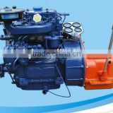 High speed marine diesel engine set for open type lifeboat ZX2105J-1 20-28Hp