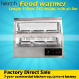 Electric food warmer showcase commercial restaurant warming display cabinet