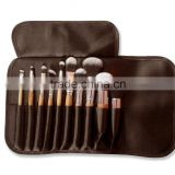 Professional Makeup Brush Set with Synthetic Hair, Best Eco Friendly Bamboo Makeup Brushes For Eye Makeup and Foundation
