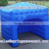 Cute blue commercial inflatable cube tent for selling SP-T2022                                                                         Quality Choice
