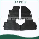 Hot sale Top Quality 5pcs Full SET Auto Car Floor Mats For JAC S5