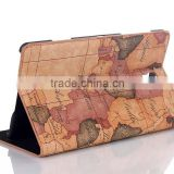 Hollow camera design pu leather case for samsung galaxy Tab T700 , beautiful design case for samsung tab