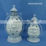 Wholesale home decor ceramic outdoor chinese lantern