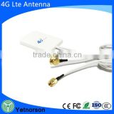 Lte Mimo 4G External Antenna Ts9 /CRC9 / SMA for Huawei Zte 3G 4G Aircard Dual Interface for 4G Lte FDD/Tdd Router Modem