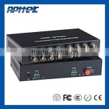 CCTV digital fiber optic cctv video converter price BNC digital fiber optic cctv video converter