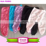 2016 High quality baby girls ruffle legging baby lace ruffled pants solid color fashion icing legging capris
