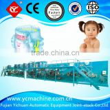 Frequency high-speed baby diaper production line