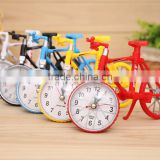 Hot sale Cool Fashion Home Decoration Creative Art Bike Shape Clock Children Kids Bicycle Alarm Clock