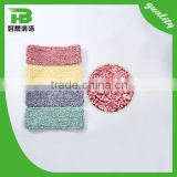 Low price change material colorful dust microfiber mop pad