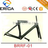 Wholesale Road Racing Bicycle Parts 700C Chinese Full Carbon Road Bike Frame