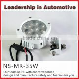 Hotsale New Product 35w LED Headlight 4.4.3 inch LED Work Light for Marine Engineering Vehicles 3-wheel Boat