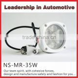 LED Fog Light for Crane Trailer Boat LED Truck Spotlgiht 4.3 inch 35w LED Marine working Light