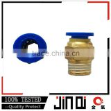 China manufacturer oval-shaped design factory supply brass fitting for build system