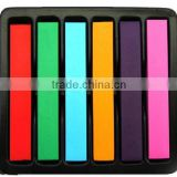 6/12/24/36 Colors Fashion Hot Temporary Hair Chalk Dye Soft Pastel DIY, temporary non-toxic hair pastel chalk with 12 colors