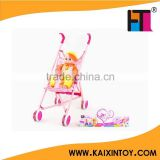 electronic lovely baby doll stroller toy with carrier/16 inch girls baby doll with IC                                                                         Quality Choice