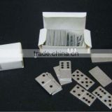 mini box aluminum domino sets