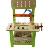 2013 New design , hot selling wooden work bench &educational for children toys