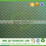 Polypropylene nonwoven fabric raw material, spunbonded polypropylene nonwoven fabric, bulk cross stitch fabric