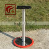 Round metal table base, stainless steel table legs, table footings,wholesale acrylic furniture legs,heavy duty table base