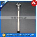 titanium seat post for bicycle parts