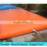 collapsible PVC plastic water tank used for irrigation