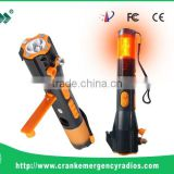 Wholesale 6 in 1 Multifunctional Car safety Emergency Flashlight with Hammer and Phone Charge