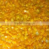 canned yellow peach regular dices wholesale peice