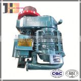 Oil free 8 cbm air compressor trailer mounted for bulk cement truck