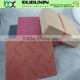 Water proof nonwoven fiber insole board for making shoe insole