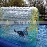 big inflatable pvc balls,hot sale inflatable wheel water roller ball price water filled lawn roller price