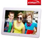 Cheap price 12 inch internal battery digital photo/foto/image frame for promotion