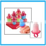 6pcs Ring Shape Ice Mould , Plastic Ice Cream Maker,Cute Ice-Tray Mould ,