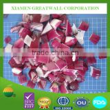 Offering frozen chopped red/purple onion and slices with competitive price from crop 2015