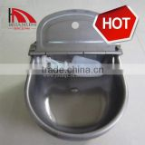 cattle water trough in stainless middle size 270*250 mm