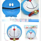 PP material cute movies cartoon Doreamon cat face mask with light