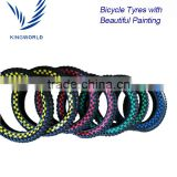 "16""x2.125"" Kid's BMX Bike Tire with Beautiful Color Patining"
