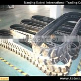 2017 hot high quanrity tractor rubber track ,steel track ,rubber track undercarriage for excavator /crawler crane / digger