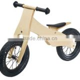 Wooden Balance Bike With Colorful design,Adjustable Height Seat