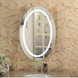 Oval Frameless LED Bathroom Vanity Mirror