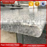 Hubei G603 Light Grey Stone Steps Risers Granite Stairs With Full Bullnose Design