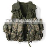 Military or Army Combat Vest or Digital Camouflage Tactical Vest with High Quality and Favorble Price