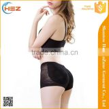 HSZ-200 Newest Hot Push Up Design women padded panties Nylon underwear for lady wholesale
