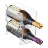 Popular Kitchen Furniture Wine Display Racks Acrylic Wine Display Portable Wine Rack