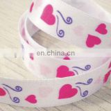 30mm print flower ribbon